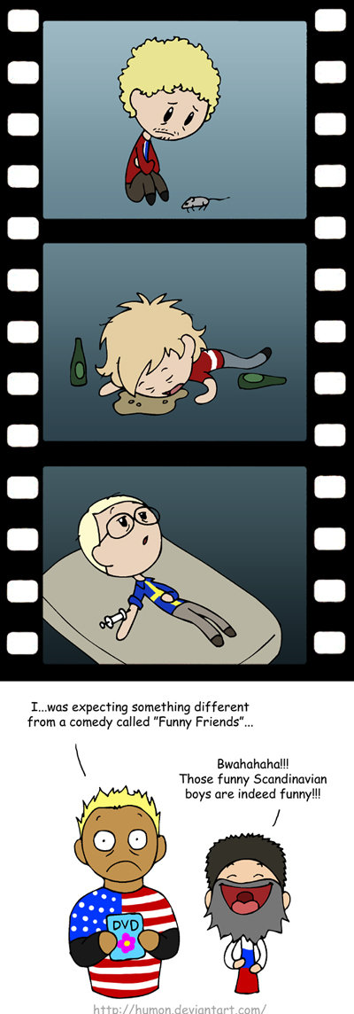 Funny Movie. Scandinavia and the World comic by Humon. If it is a repost I will take it down, I just want some proof to back up any statements. I'm not looking