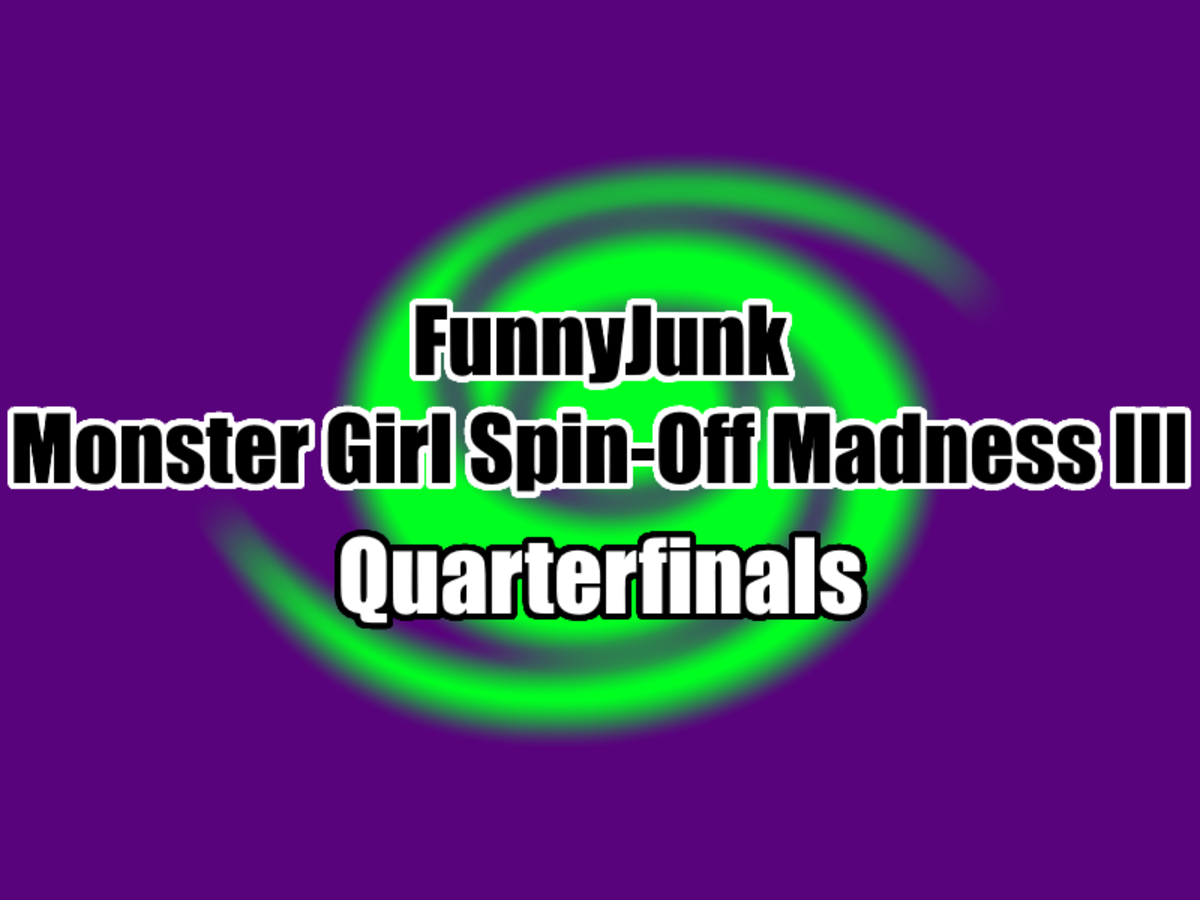 """FunnyJunk Monster Girl Spin-Off Madness III: Quarterfinals. Round of 16: """"Oh sake, now it's the even worse meme skeleton? I'mm flip both tits if Cocytus lo"""