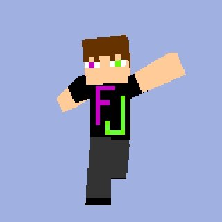 FunnyJunk MineCraft Skin. This is an FJ - themed skin I made for MineCraft using SkinEdit<br /> I'll put the image file you need in the comments... not enough neckbeard
