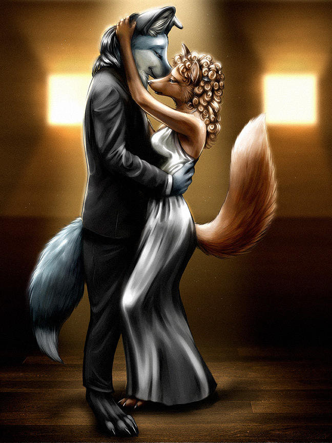 "Furry SFW. Found this. Liked it... NNow if only all the Skinfags could see this and Realise, ""Hey, wait a Minute, not all Furry art is Yiff, and Maybe they're not all Faggots."" Well, I"