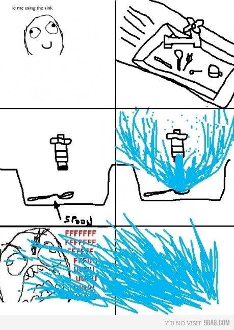 Fuuuuuu. Every time! Spare a thumb :].. lol!
