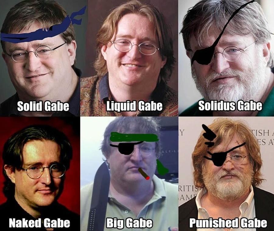 Gabe. .. >Naked Gabe