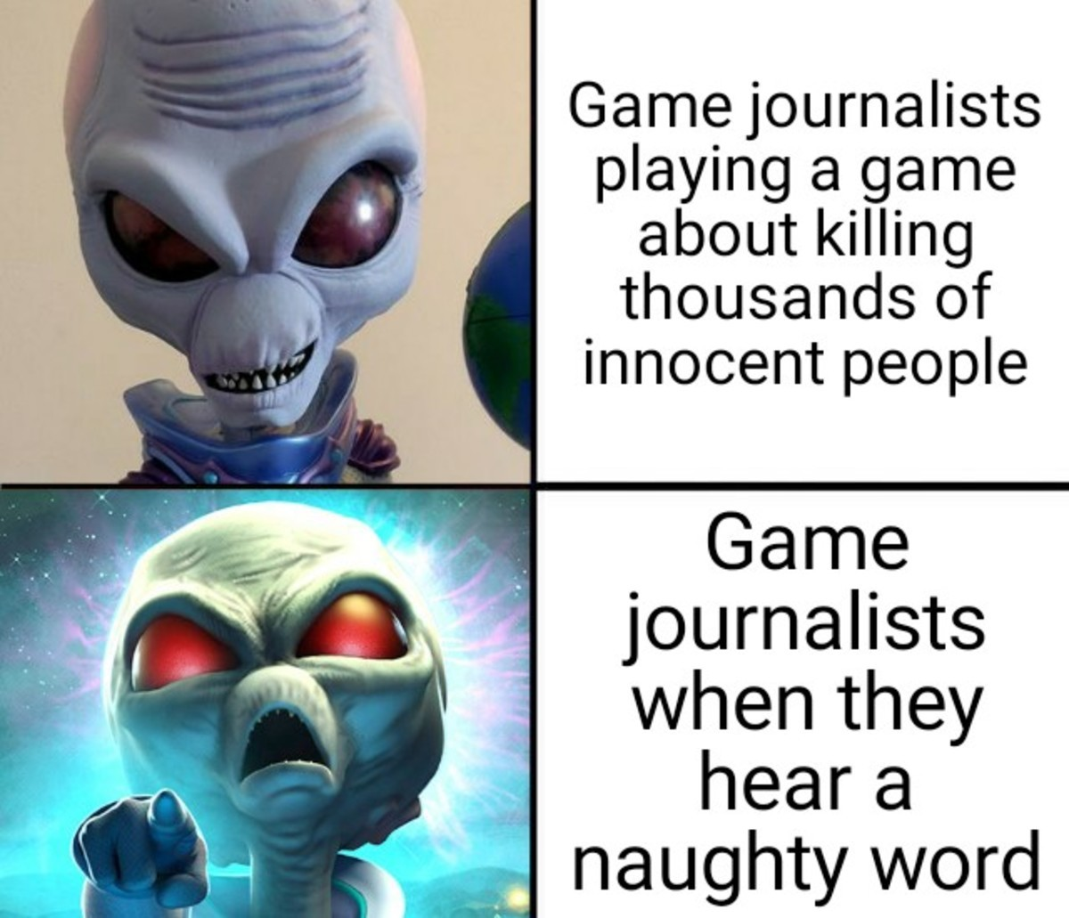 Game Journalists. .. MIDGETComment edited at .