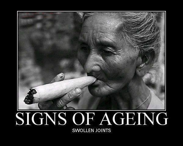Getting Older. .... SWOLLEN JOINTS