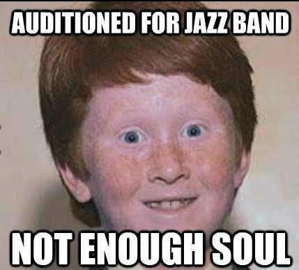Ginger jazz. Bip bop.