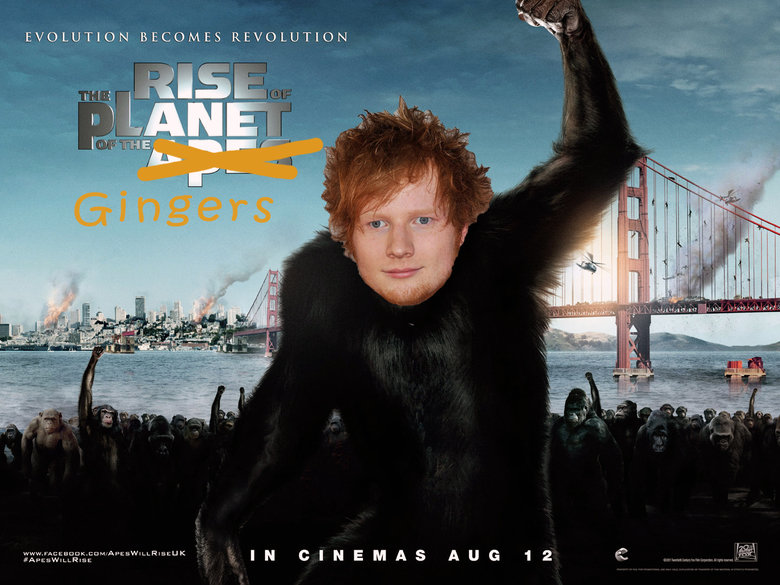 Gingers!. Planet Of The Gingers!.