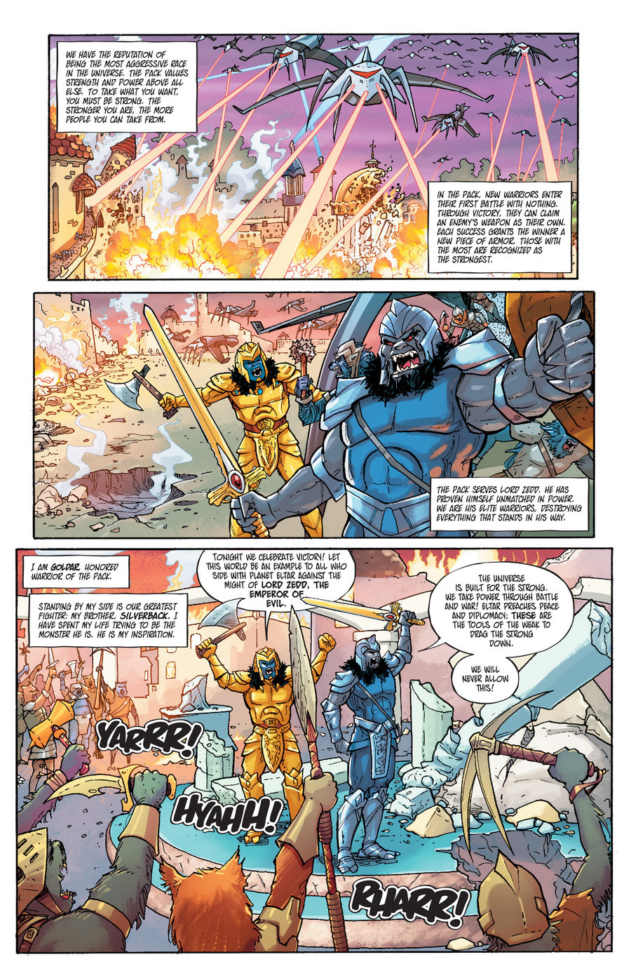 Go Go Power Rangers. Sauce is the Mighty Morphin' Power Rangers Annual... So is there a legitimate comic series or is this just part of a magazine?