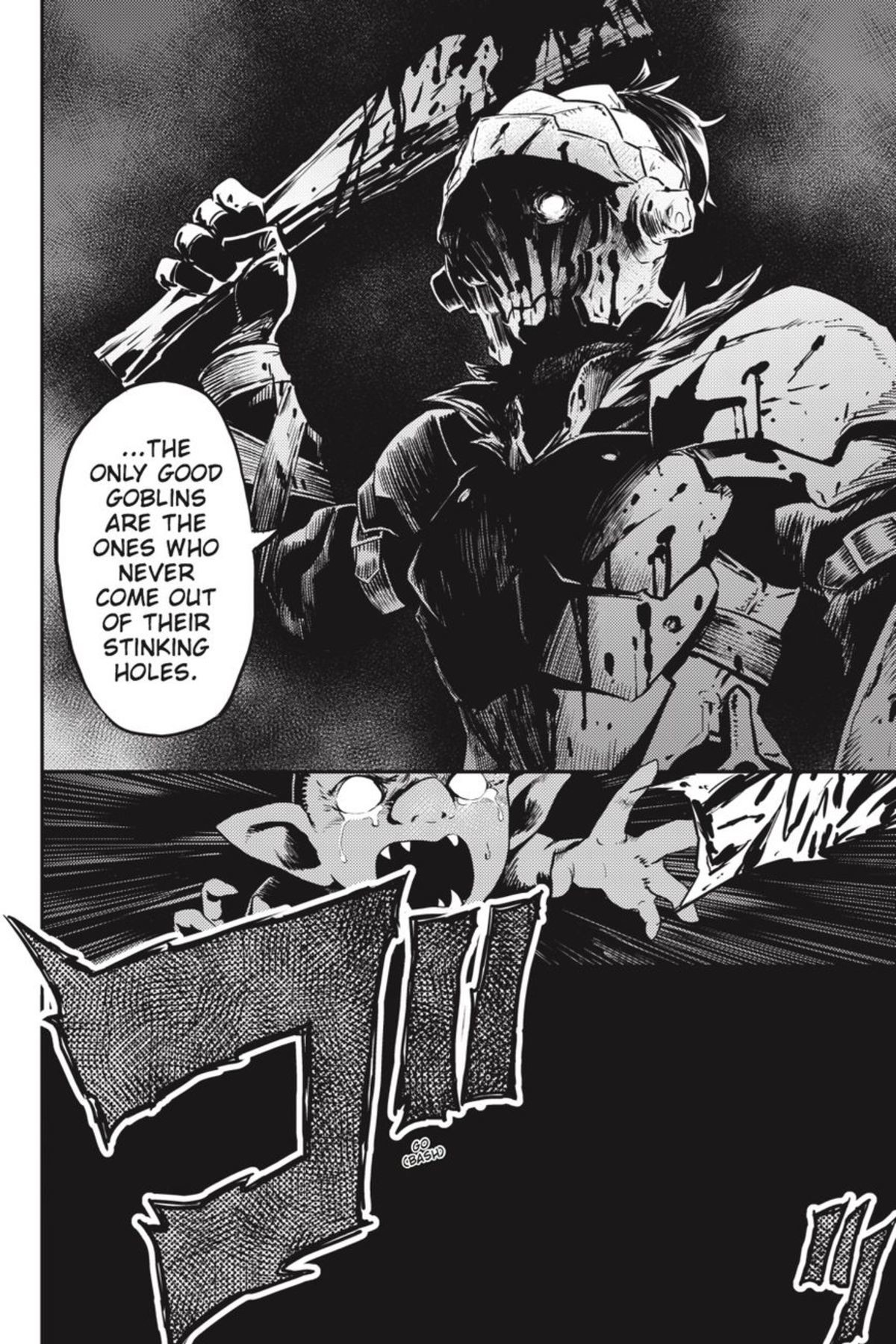 Goblin Slayer. Anyone know when the 5th volume of Goblin Slayer is going to be translated? I thought the protagonist was cool so I read the manga and then all t