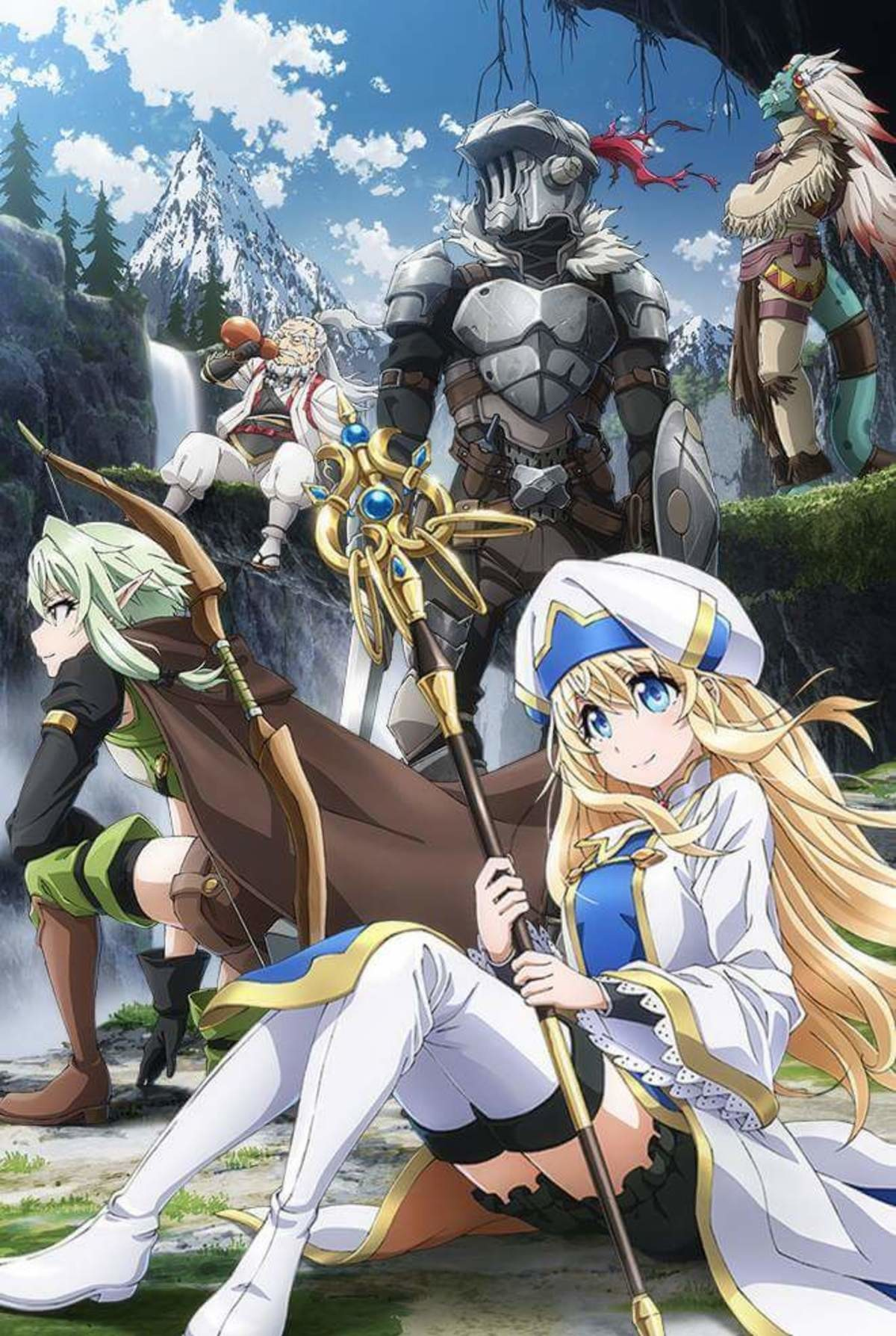 Goblin Slayer Key Visual. join list: AniNews (34 subs)Mention History.. getting a lot of use outta this