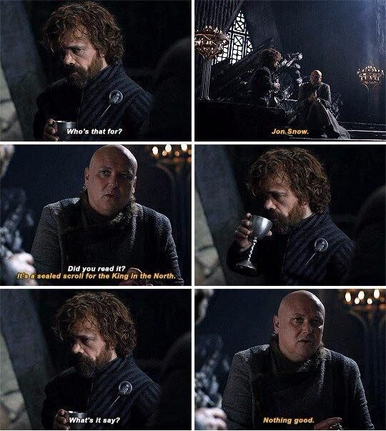 gossip monger. .. On the scroll was a cognitohazard that eats your intelligence hence why Varys, the master spy, got caught trying to kill the queen because he told everyone he w