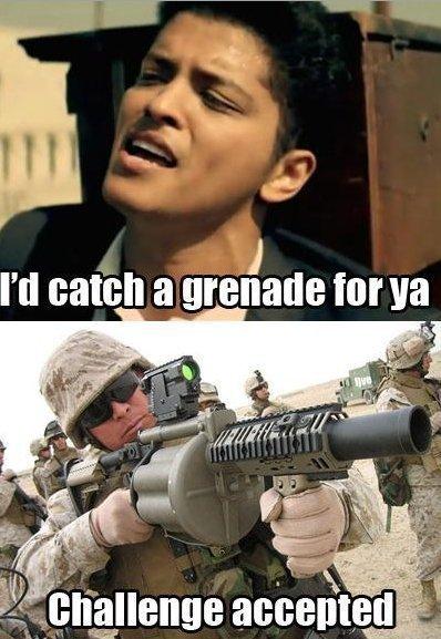Granade Challenge.. . I' d a grenade attr ll r, apt
