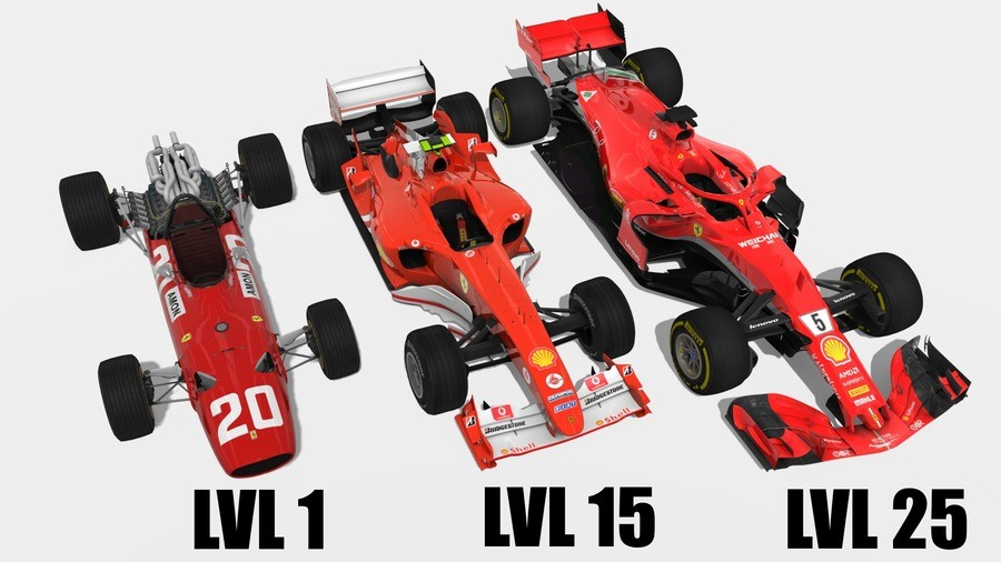 Grand Prix RPG. join list: Motorsports (190 subs)Mention History.. Red Bull started at level 18 and bought the premium pack!