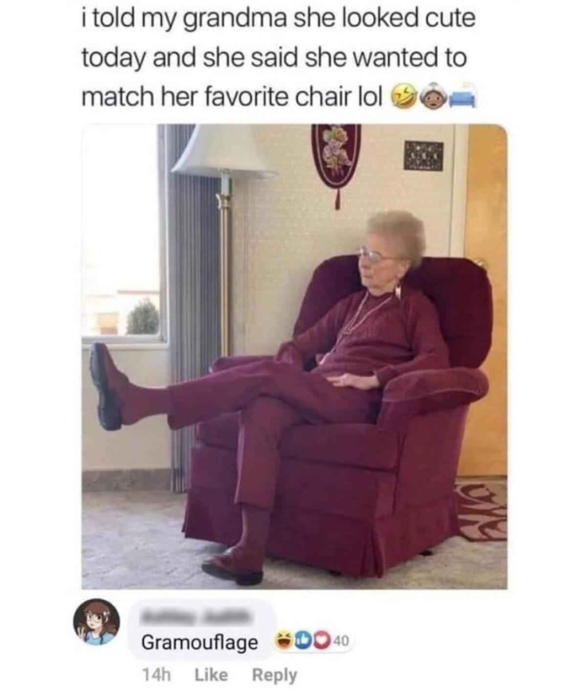 Grandma. .. where is grandma?
