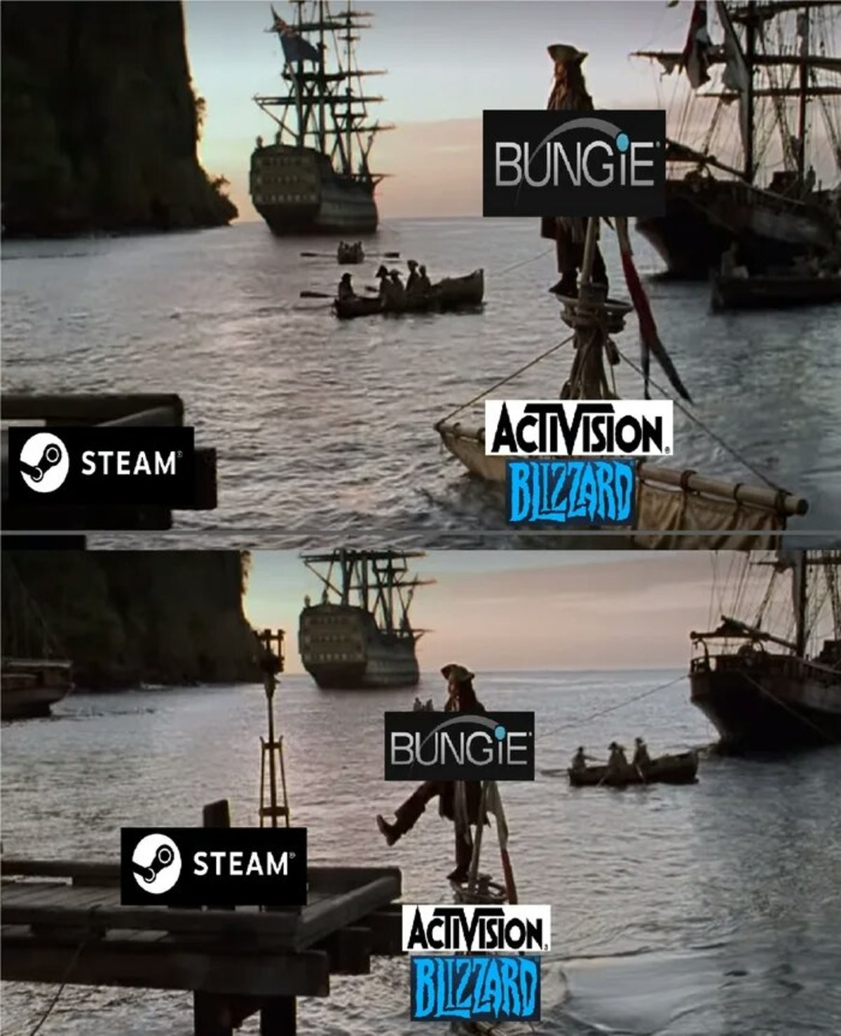 greedy coordinated Barracuda. .. Did you all forgot where bungie got the money to jump ship? www.theverge dot com/platform/amp/2018/6/3/17422410/bungie-netease-100-million-investment-china-dest