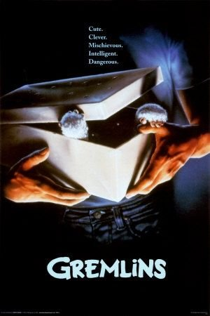 gremlins movie. this movie scared the out of me when i was a child. i couldn't ever finish it....