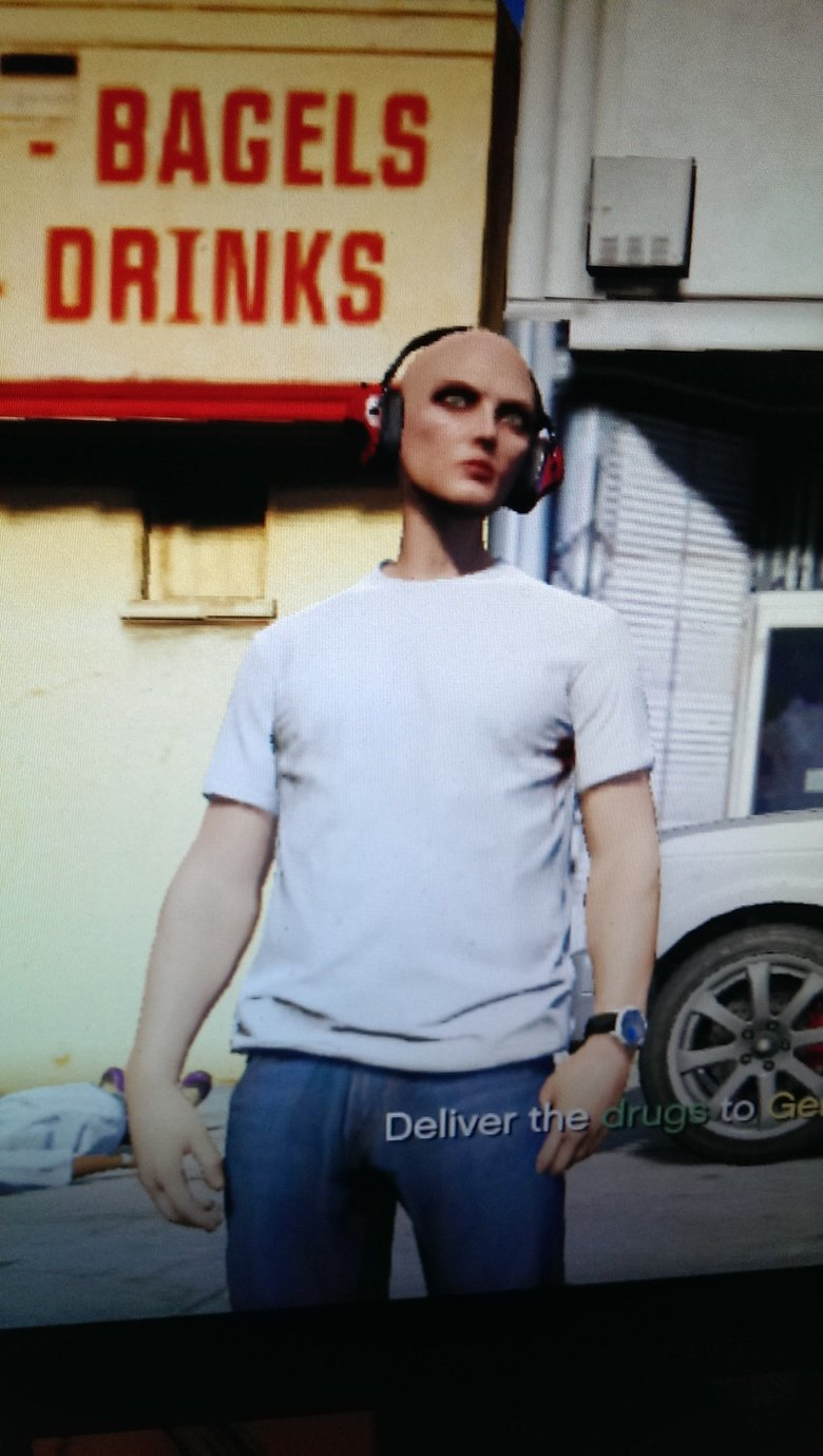 GTAV thought my character was boring. so they made one for me. Why choose one gender when you can have two?.. How did I get here from the front page?? ( 22 thumbs)