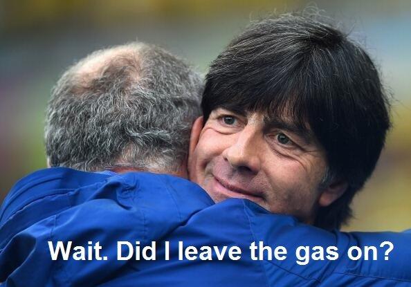 Hagel Herrlichen Deutschland. . Wait. Did I leave the gas on?. 6 million hope you didn't
