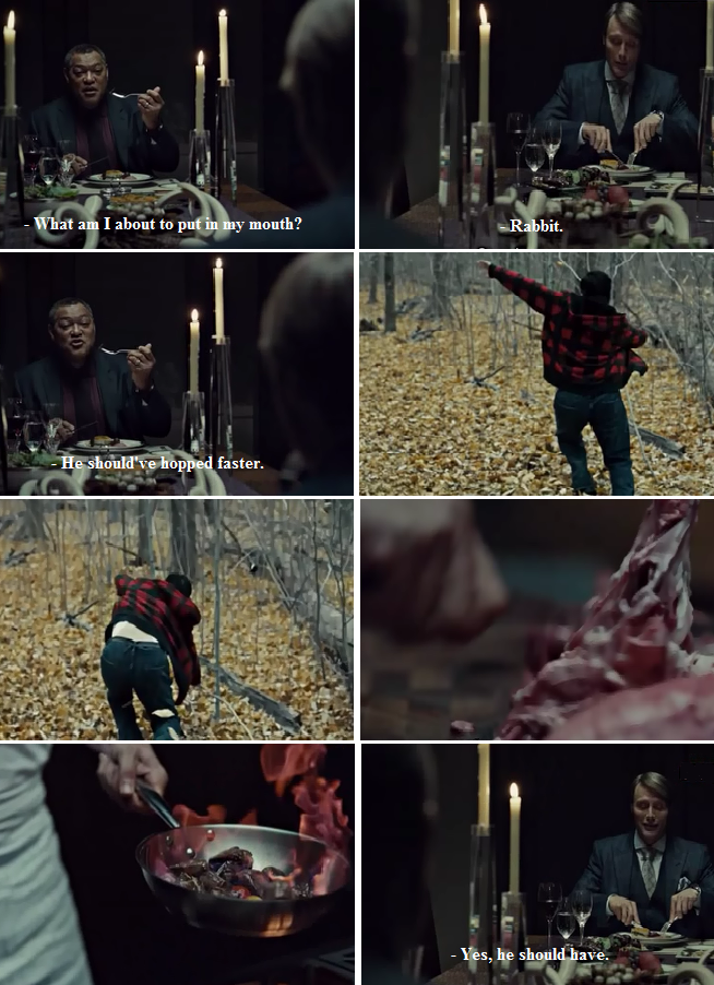 Hannibal. Gotta love him.... A little something from the 'Hannibal' series of NBC... Episode 1: Episode 2: Episode 3: Episode 4: Episode 5: Episode 6: Episode 7: Episode 8: Episode 9: Episode 10: Episode 11: Episode 12: Episode 13: Enjoy!