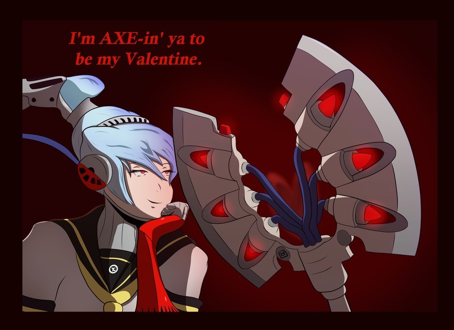 Happy Valentines Day!. Valentine's day request from a Labrys-loving supporter...