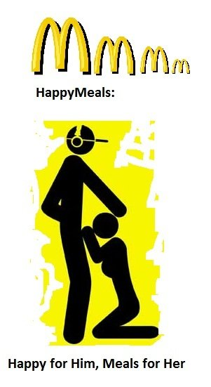 Happy Meals. Isnt it true?.. lets feed the world :D