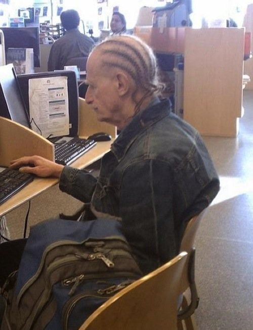 Hardest Thug at the Nursing Home. .