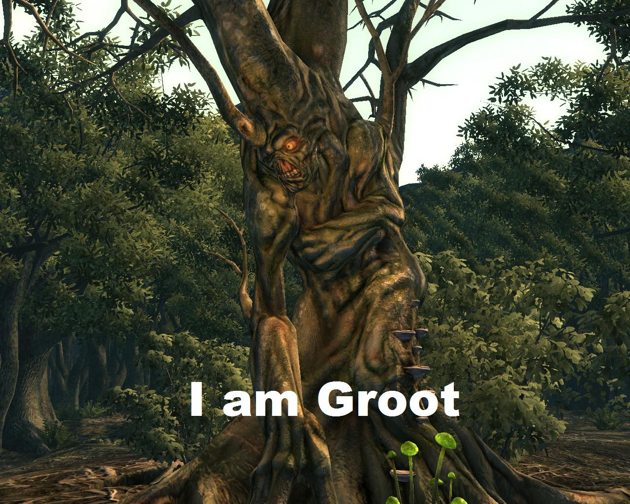 Harold is.... ...He is Groot.. I am Groot! I am Groot!