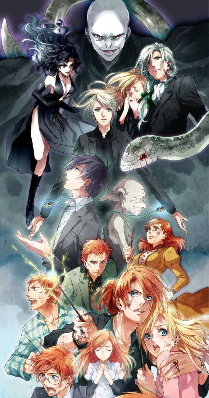 Harry Potter As An Anime. .. Original, if anyone wants