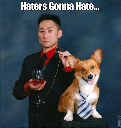 Hatin'. Don't read this.. Haters Gonna Hate...