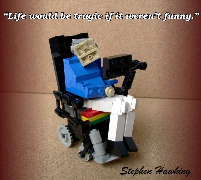 Hawking. .. I heard he did the vocals for Daft Punk lol