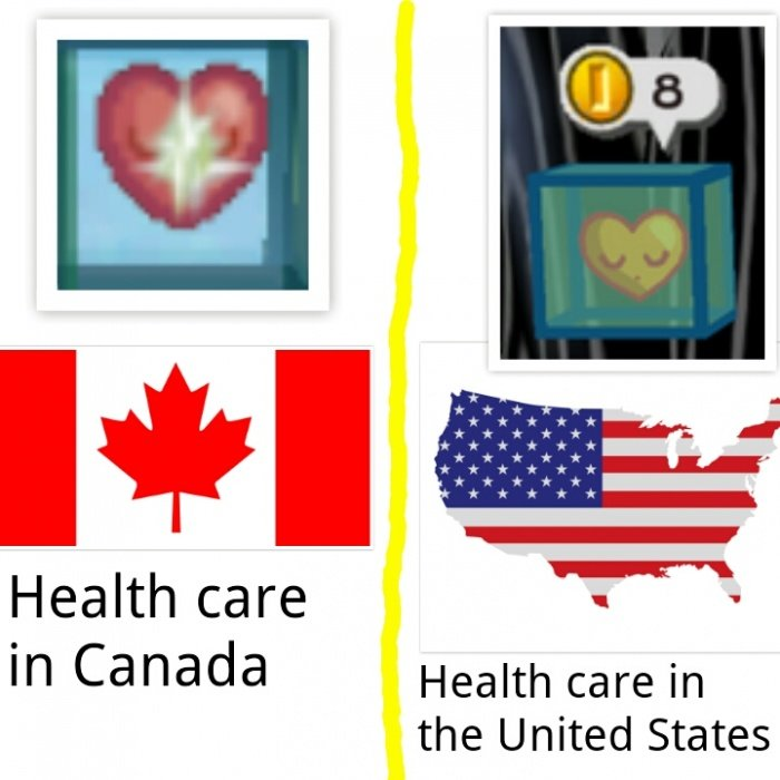 Healthcare. . Health care - - in Canada Health care in the United States. How about instead of making the government pay for it why don't we deal with the reasons it is expensive in the first place? This is something that eludes the u