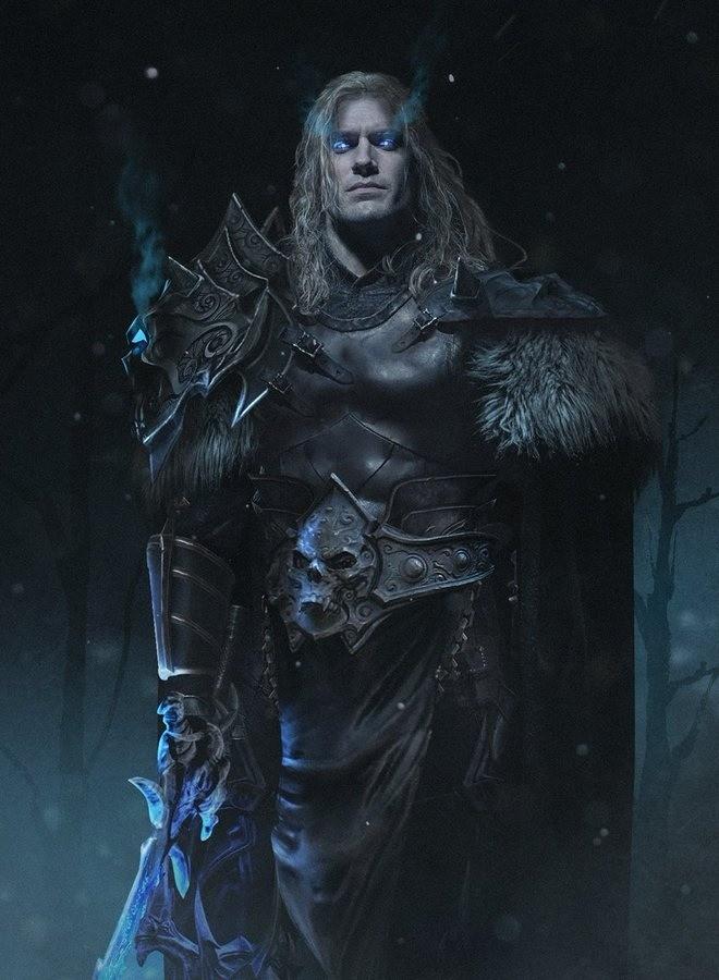 Henry Cavill as Arthas. .. I think that if Ewan McGregor could bulk a bit he'd make a good Uthor Lightbringer
