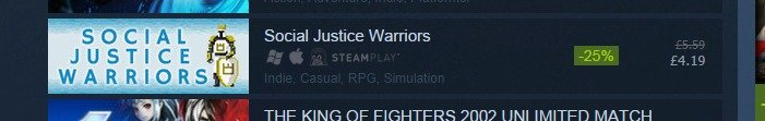 """Here we go again. . Social Justice Warriors l re it, . KING HF FIGHTERS GND? [WI / MATCH. """"Casual"""""""