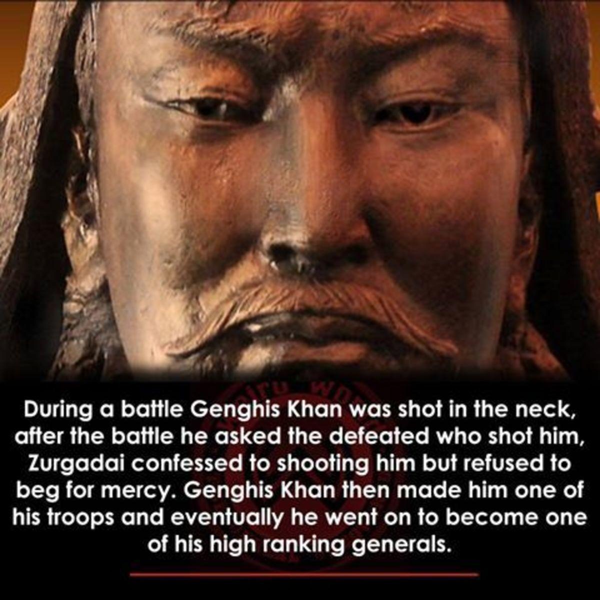 Hey Man, Nice Shot. .. I wonder if a young Ghengis Khan was hot.