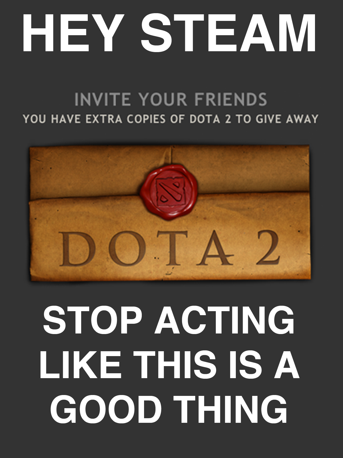 Hey Steam. I can't be the only one who thinks this. LIKE THIS Ki) Jlt. I played DotA, HoN and LoL and I liked LoL the most. Its just a matter of opinion so play the one that you like most and stop dissing people for liking somethin