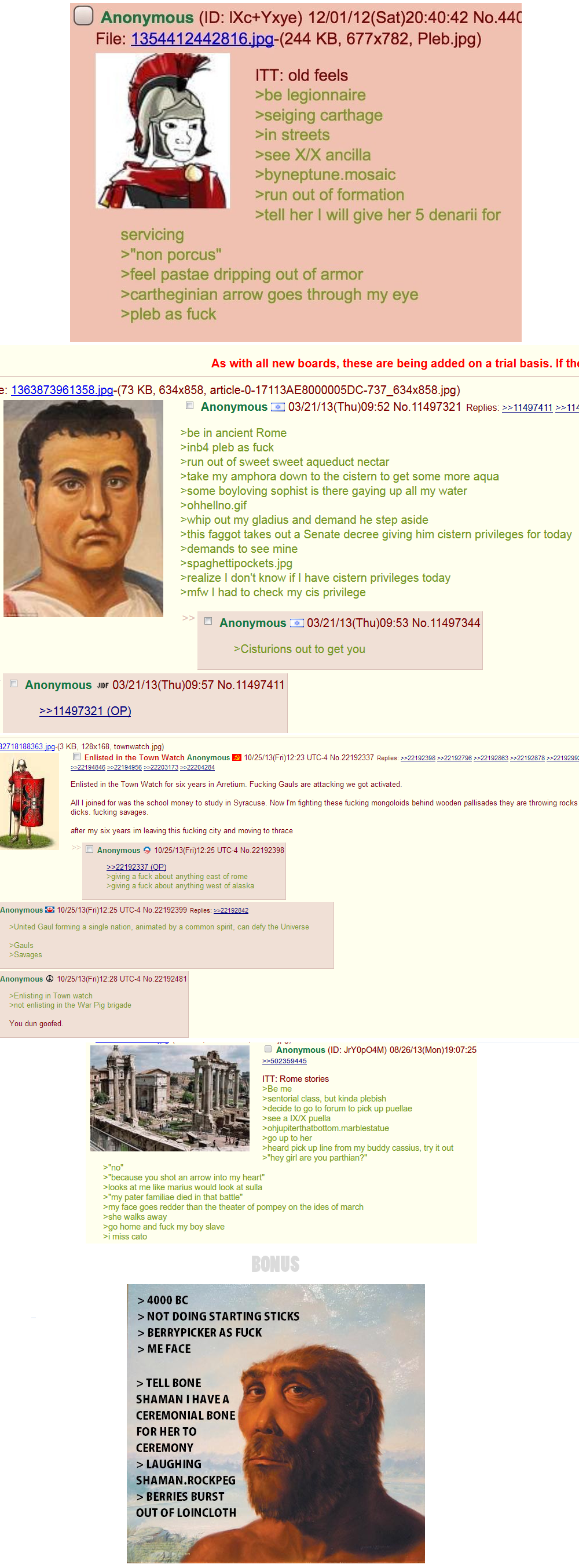 Historical Greentexts. Historical greentexts are my favourite... My god these are amazing
