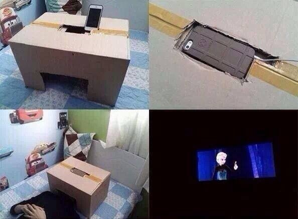 Home theater. If you want more posts like this then don't be afraid to send me a friend request and / or subscribe. Also I'm trying to beat phanact to the numbe