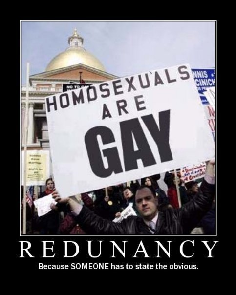 Homosexuals are Gay. Face it they are gay. eebe SOMEONE has to state the obvious.. Captain Obvious strikes again...
