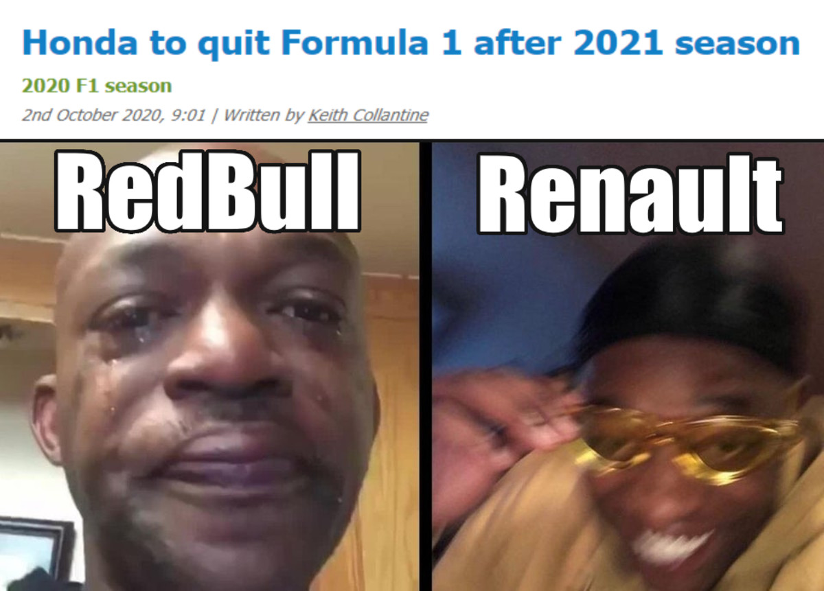 "Honda Power. join list: Motorsports (190 subs)Mention History.. ""B-but we HAVE to leave F1, muh climate goals and whatnot"" Just admit you werent statisfied with not rolling in 1st every race you dumbass. Honda real"