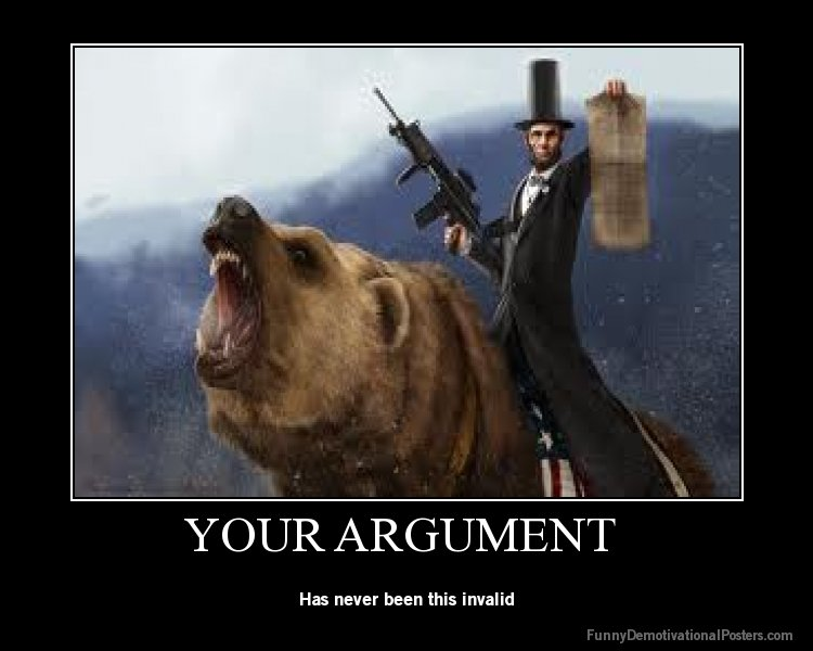 Honest Abe. This doesn't need a descrption. Has never been this invalid