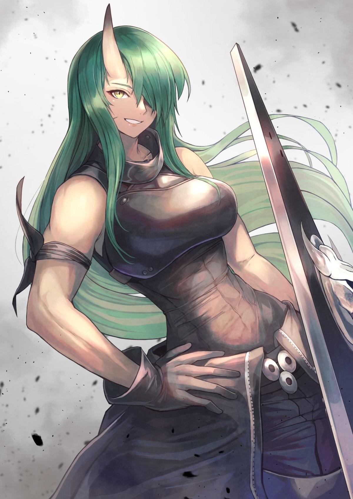 Hoshiguma's -abs- smile. .. >tfw no heroic tol oni gf What's the point, fellas?