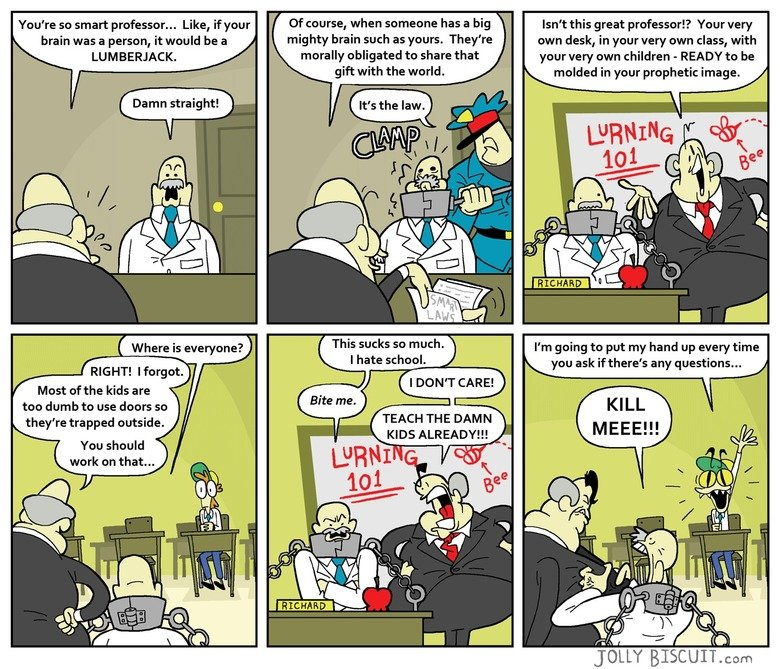 "How education works. Get you some lurning at www.jollybiscuit.com. You' re so smart professor... Like, if your ::.f"" g' Of , when Stat' tatami!) has a big ""ti:."