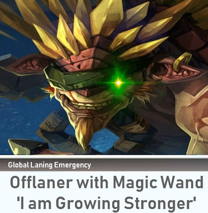 how it feels to lane vs Phantom Assassin. . Emergency rata'' l with Magic Wand I am Growing Stronger'. Playing Phantom Assassin when you get to level 6