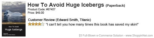 How To Avoid Huge Icebergs. . Fruits: Cade Ptke: HELEN] GEE Review