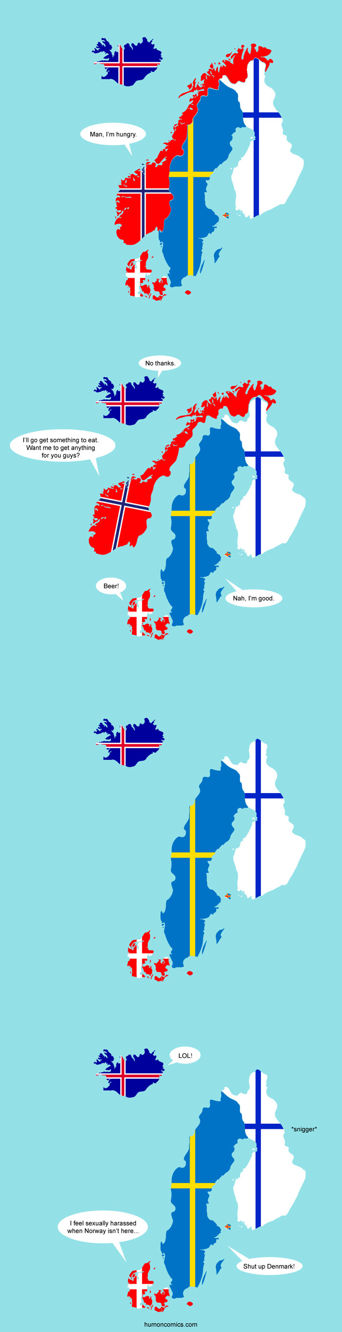 How uncomfortable.. . Man, I' m hungry. l I] get something to eat. a t me to get anything for you guys? mitts.. Hold up... there is a post, which involves Denmark, and nobody is talking danish yet? Not even a Bubber reference? Come on people!