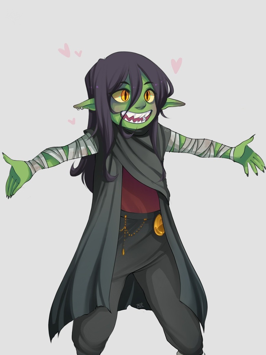 Hug the goblin. .. I'm curious is Nott the origin for people making cute goblins rather than little monstrous Demi-trolls?