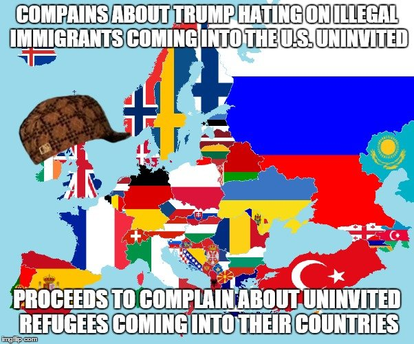 """Hypocrisy, Exibit A. Yeah, I'm aware I mispelled """"complain"""" The irony is hilarious. I'm having myself a good giggle.. Ly la tlq. Pretty sure there's a difference between the two. Consider: Case 1: Illegal Mexicans willing to take entire families across the border and work for minimum wage"""