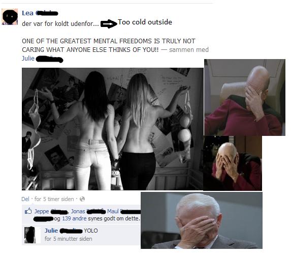 I dont even. Facebook.