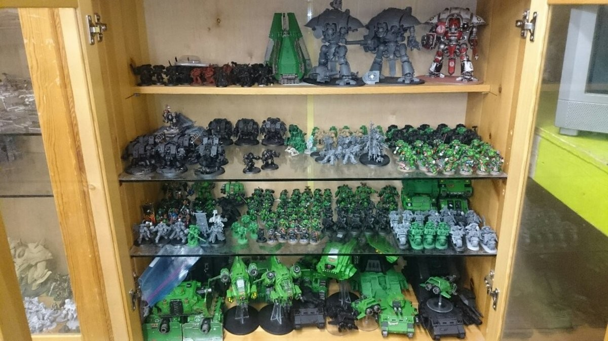 I may have a problem.... So yeah here is a bit of a side project I've been working on for the past few years... That moment you realize that 40K isn't the year, it's how much you've spent.