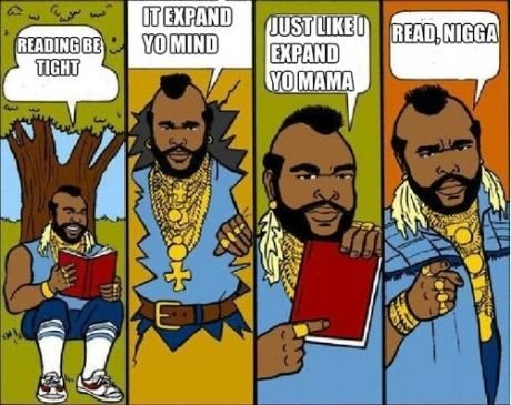 I pitty the fool. .