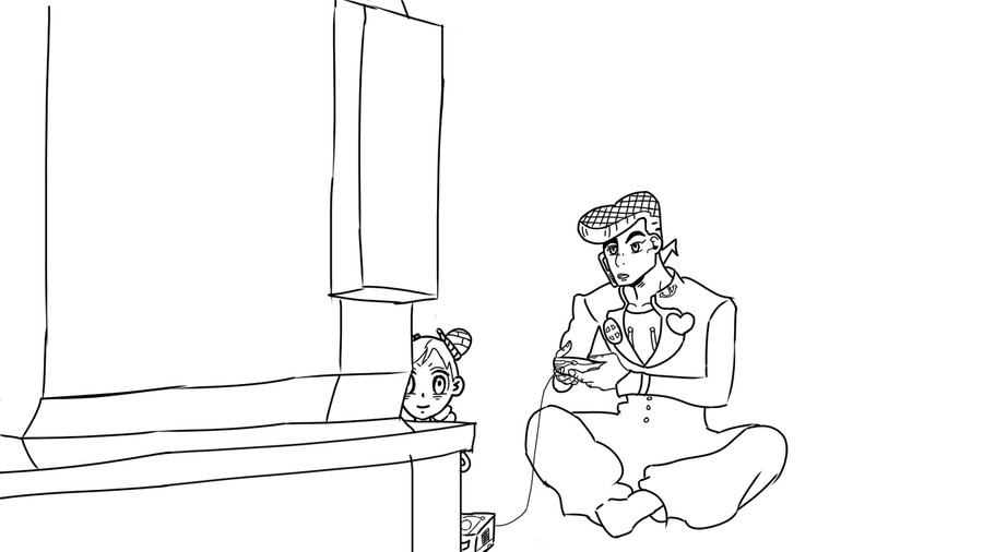 I suck at drawing. This is essentially a teaser for my latest Jojo project. I use paint tool sai if anyone was wondering (you probably dont care).. No you don't suck at drawing That's gurato daze Also I will insta like everything with smolyne